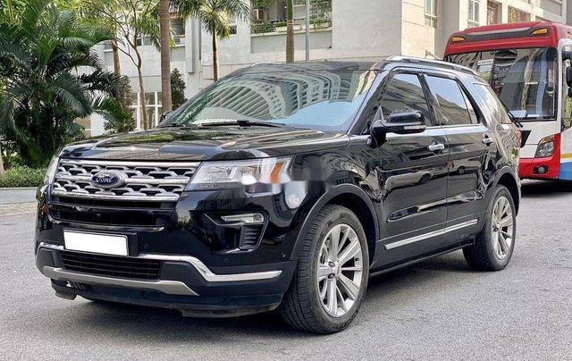 Cần bán gấp Ford Explorer Limited đời 2018, màu đen2
