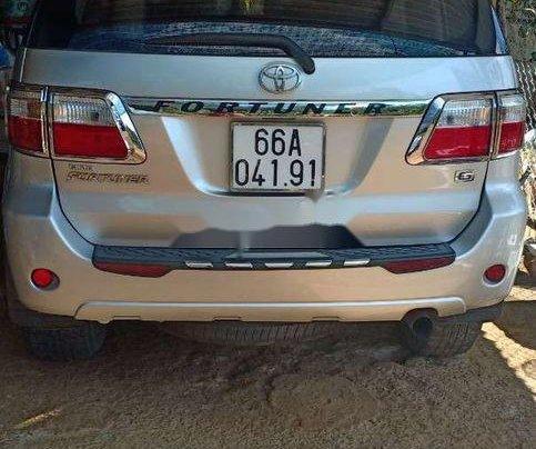 Bán xe Toyota Fortuner năm sản xuất 2009, màu bạc, xe nhập0