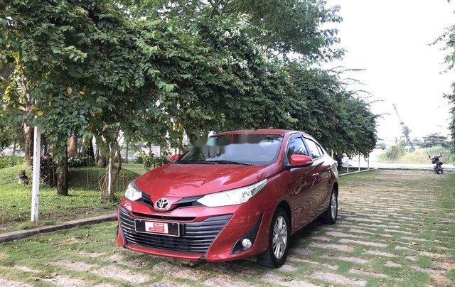 Bán Toyota Vios 2019, màu đỏ, giá 530tr0