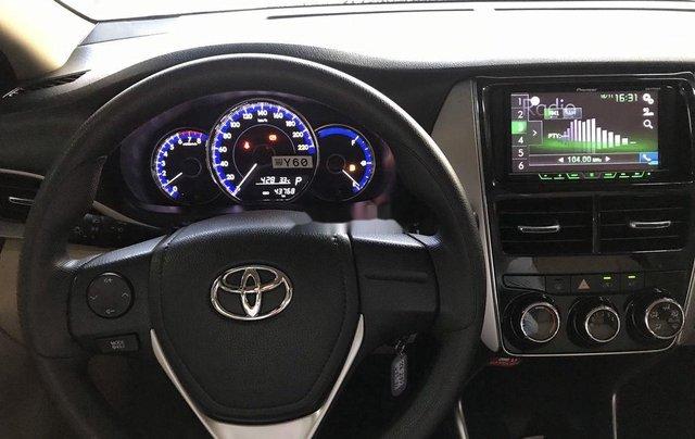 Bán Toyota Vios 2019, màu đỏ, giá 530tr9