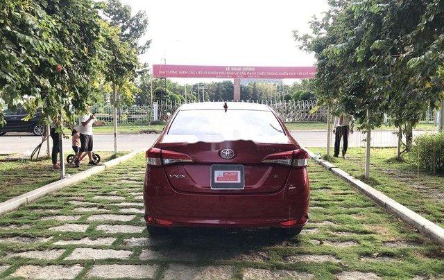 Bán Toyota Vios 2019, màu đỏ, giá 530tr4