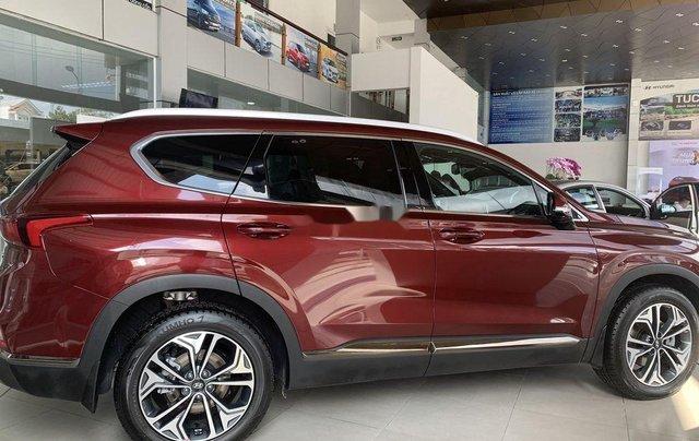Bán ô tô Hyundai Santa Fe năm 2020, màu đỏ4