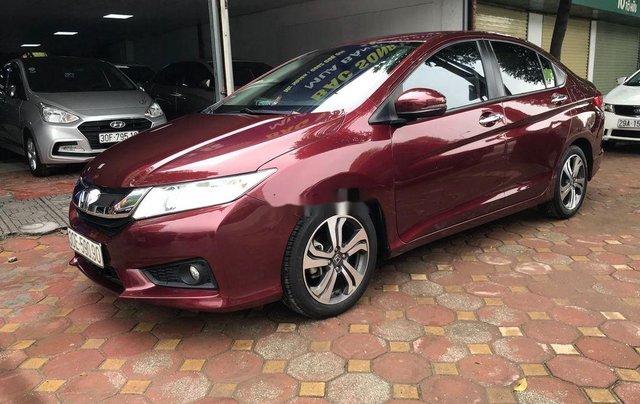 Bán xe Honda City đời 2016, màu đỏ chính chủ 2