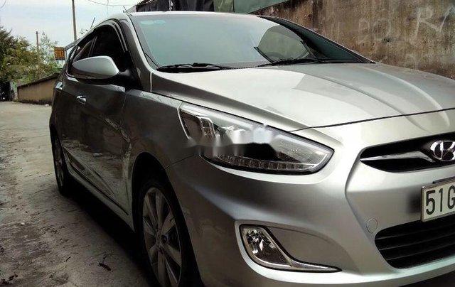 Cần bán Hyundai Accent đời 2014, màu bạc, xe nhập chính chủ1