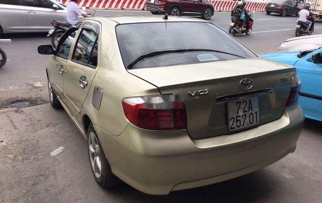 Bán ô tô Toyota Vios 2003, màu vàng chính chủ1