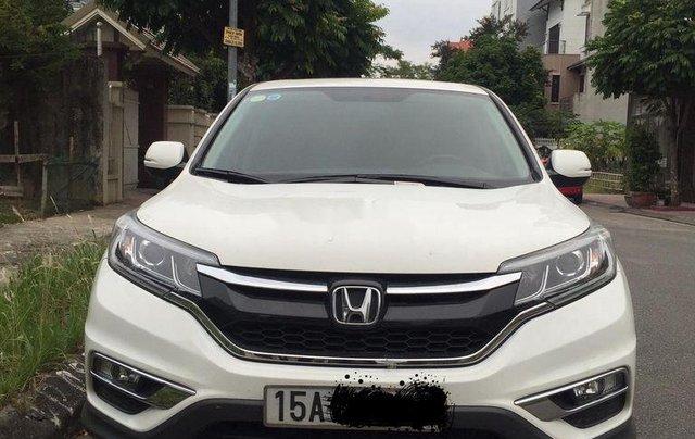 Chính chủ bán xe Honda CR V năm 2015, màu trắng0