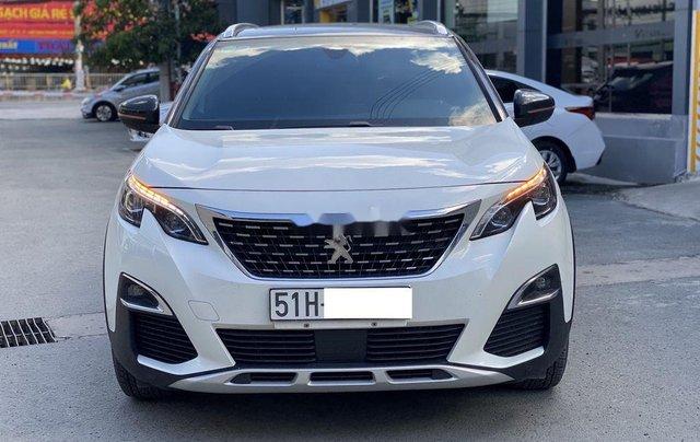 Bán ô tô Peugeot 5008 đời 2019, màu trắng, biển SG0
