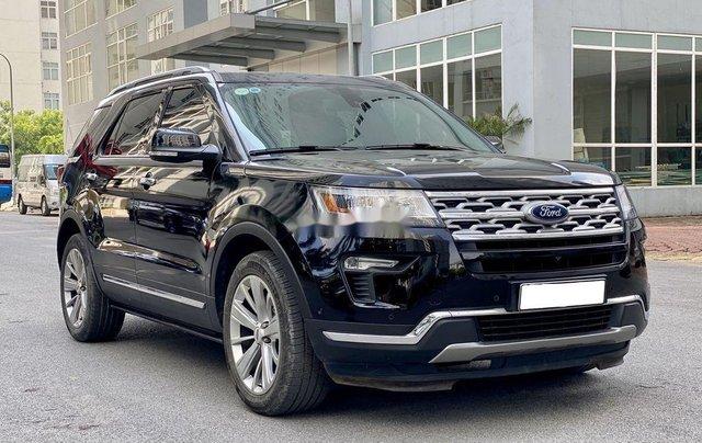 Cần bán gấp Ford Explorer Limited đời 2018, màu đen1