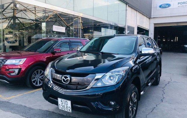 Chính chủ bán xe Mazda BT 50 năm 2017, màu đen, xe nhập 2