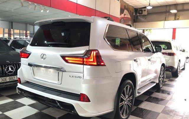 Bán Lexus LX 570 V8 2020, màu trắng, nhập khẩu số tự động1