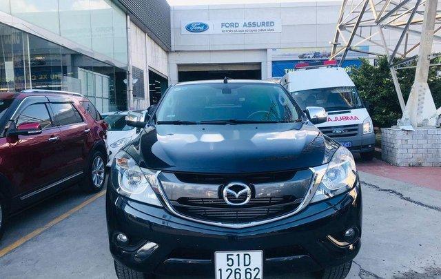 Chính chủ bán xe Mazda BT 50 năm 2017, màu đen, xe nhập 0