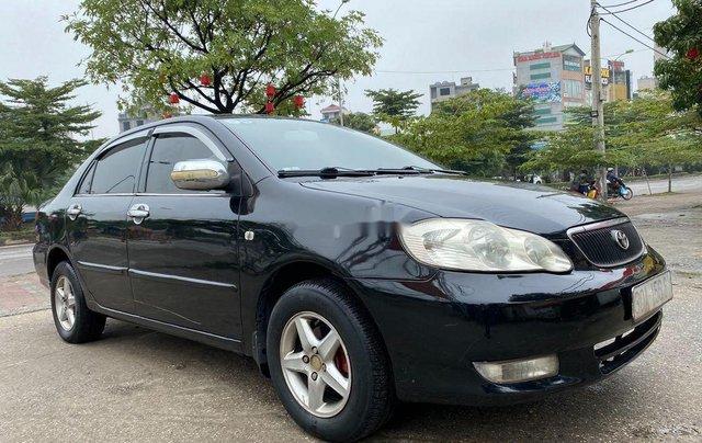 Bán Toyota Corolla Altis đời 2003, màu đen chính chủ 1