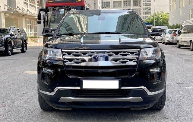 Cần bán gấp Ford Explorer Limited đời 2018, màu đen0