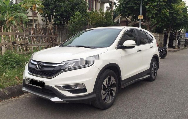 Chính chủ bán xe Honda CR V năm 2015, màu trắng1