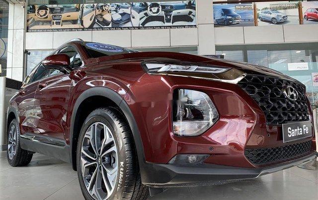 Bán ô tô Hyundai Santa Fe năm 2020, màu đỏ2