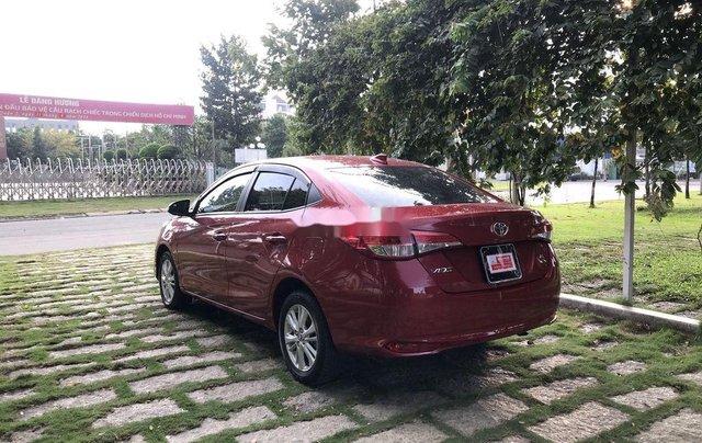 Bán Toyota Vios 2019, màu đỏ, giá 530tr5