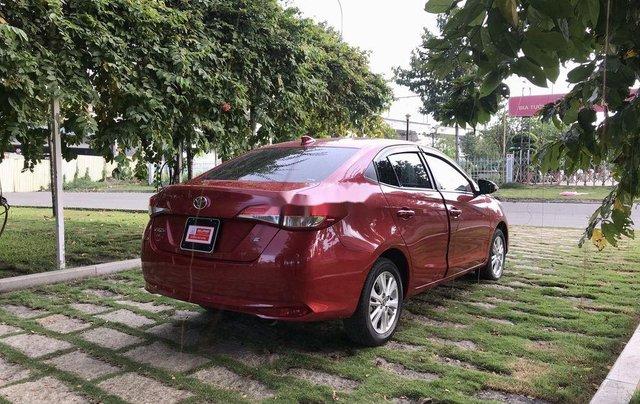 Bán Toyota Vios 2019, màu đỏ, giá 530tr3