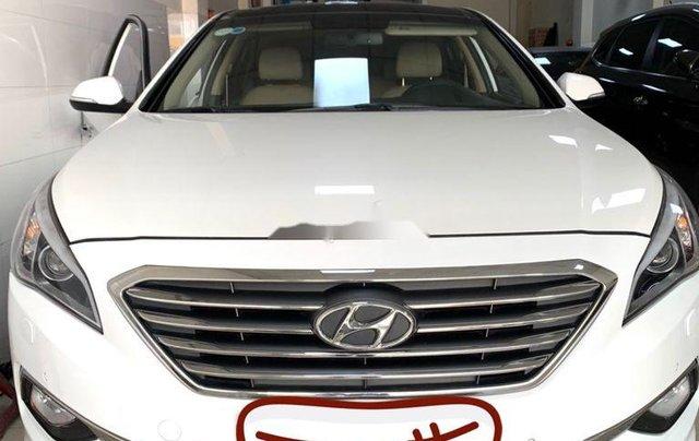 Bán Hyundai Sonata năm sản xuất 2016, màu trắng, nhập khẩu số tự động0