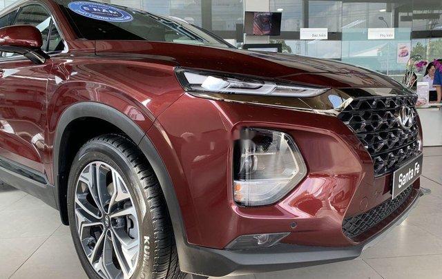 Bán ô tô Hyundai Santa Fe năm 2020, màu đỏ1