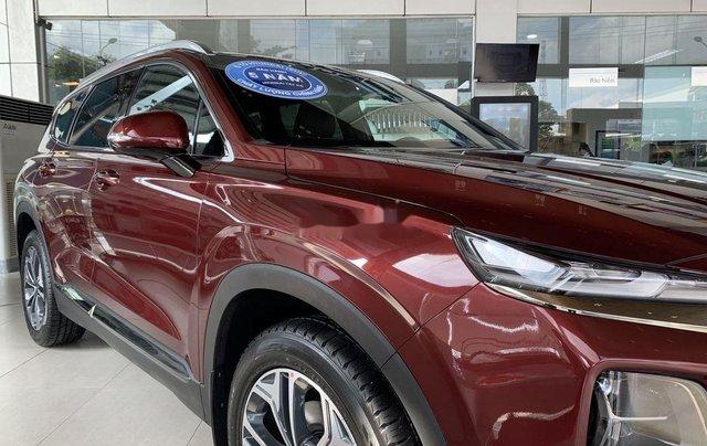 Bán ô tô Hyundai Santa Fe năm 2020, màu đỏ3