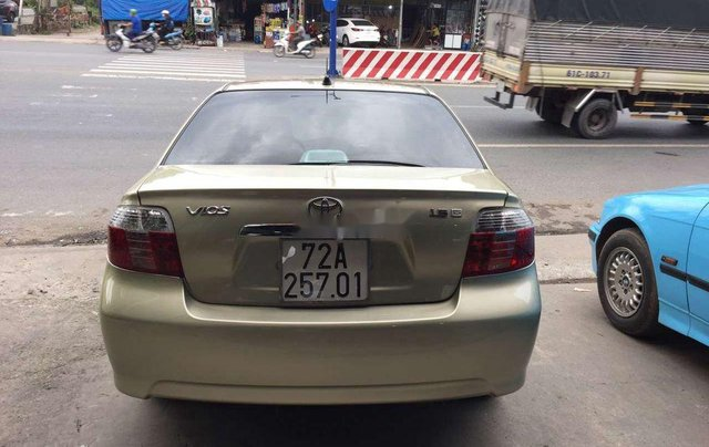 Bán ô tô Toyota Vios 2003, màu vàng chính chủ2
