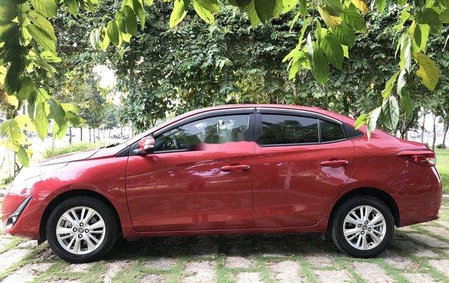 Bán Toyota Vios 2019, màu đỏ, giá 530tr6