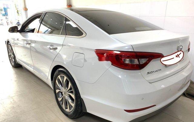 Bán Hyundai Sonata năm sản xuất 2016, màu trắng, nhập khẩu số tự động1