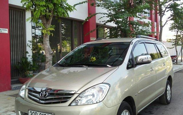Chính chủ bán Toyota Innova sản xuất năm 2009, số tự động, màu vàng, giá tốt0