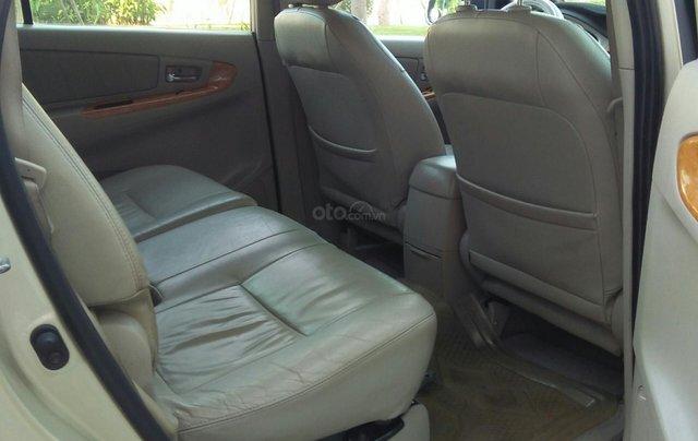 Chính chủ bán Toyota Innova sản xuất năm 2009, số tự động, màu vàng, giá tốt7