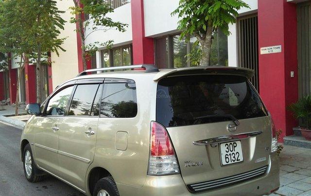 Chính chủ bán Toyota Innova sản xuất năm 2009, số tự động, màu vàng, giá tốt2