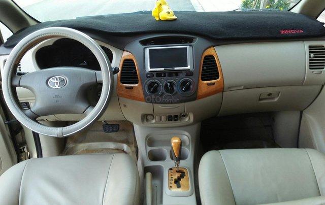 Chính chủ bán Toyota Innova sản xuất năm 2009, số tự động, màu vàng, giá tốt4
