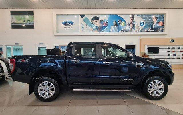 Ford Ranger Limited 2020 AT, mới 100% giá cực tốt, chỉ 116tr lấy xe tặng phụ kiện, giao xe toàn quốc, trả góp 80%7