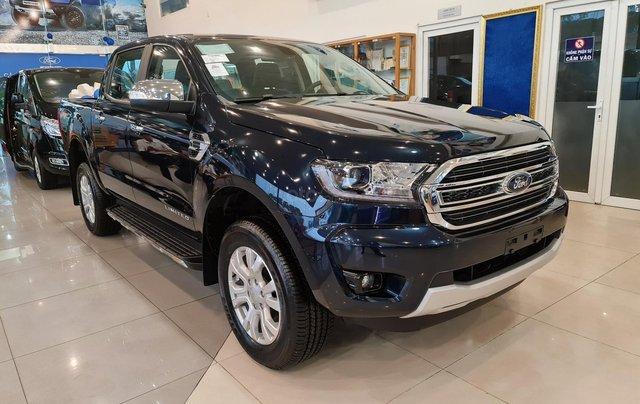Ford Ranger Limited 2020 AT, mới 100% giá cực tốt, chỉ 116tr lấy xe tặng phụ kiện, giao xe toàn quốc, trả góp 80%0