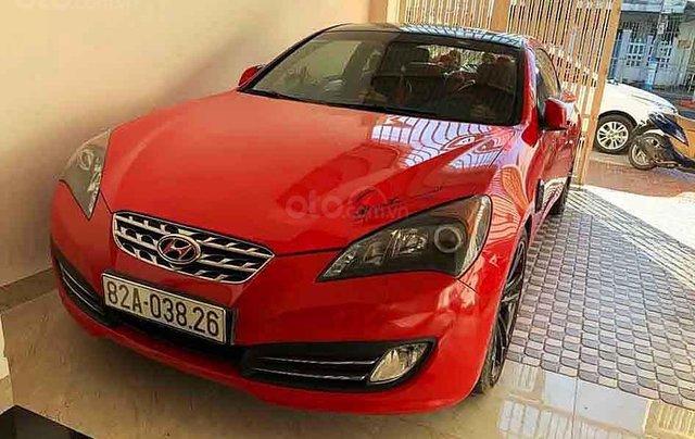 Cần bán gấp Hyundai Genesis sản xuất năm 2009, màu đỏ, nhập khẩu còn mới, 450tr0