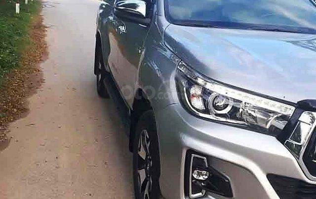 Cần bán lại xe Toyota Hilux sản xuất năm 2018, màu bạc, nhập khẩu nguyên chiếc còn mới, 789 triệu4