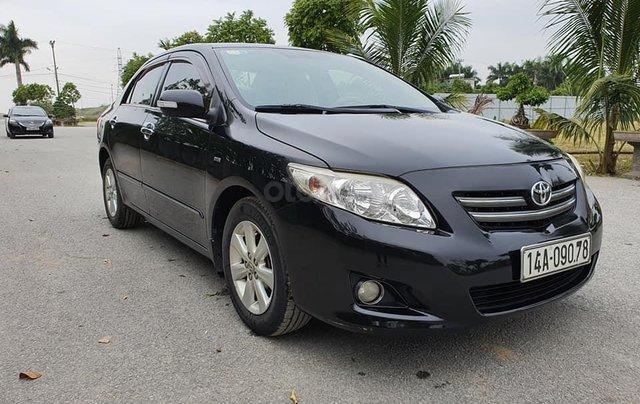 Cần bán gấp chiếc Toyota Corolla Altis năm sản xuất 2008, xe một đời chủ sử dụng0