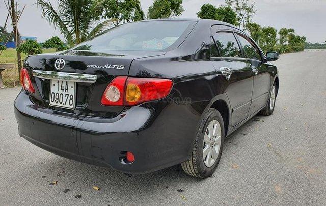 Cần bán gấp chiếc Toyota Corolla Altis năm sản xuất 2008, xe một đời chủ sử dụng5