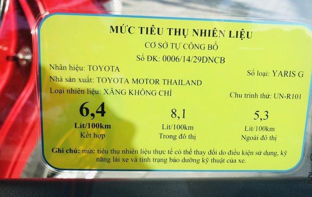 Cần bán nhanh Toyota Yaris 1.3G 20166