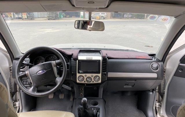 Ford Everest 2.5L 4x2MT đời 2014, màu bạc, mày dầu, số tay, 1 chủ từ mới, không lỗi nhỏ, sơn zin cả xe5