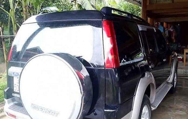 Bán Ford Everest năm sản xuất 2009, màu đen còn mới giá cạnh tranh0