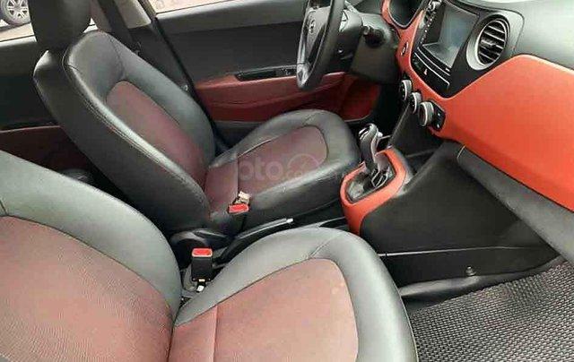 Bán Hyundai Grand i10 sản xuất 2017, màu nâu còn mới, giá tốt4