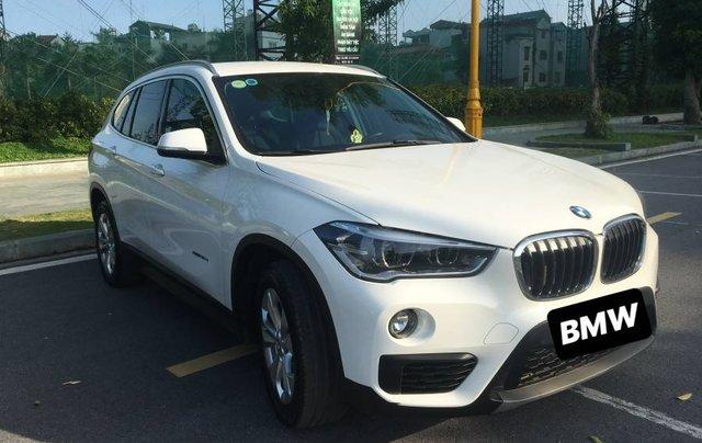 Cần bán xe BMW X1 đời 2015, màu trắng, nhập khẩu nguyên chiếc chính chủ1