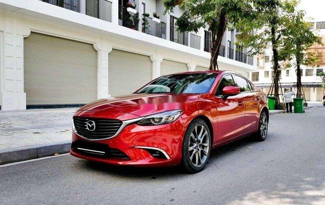 Xe Mazda 6 2.5 Premium đời 2018, màu đỏ0