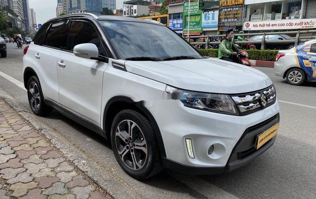 Xe Suzuki Vitara 2016, màu trắng, nhập khẩu3