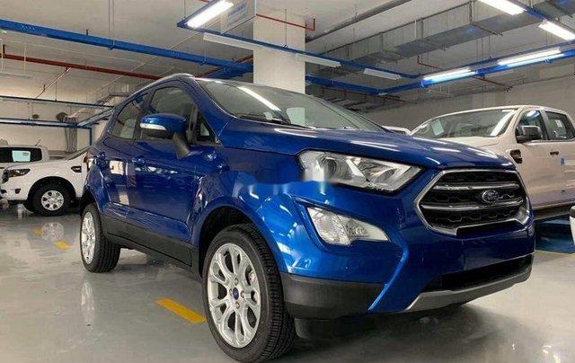 Cần bán Ford EcoSport sản xuất năm 2020, màu xanh lam0