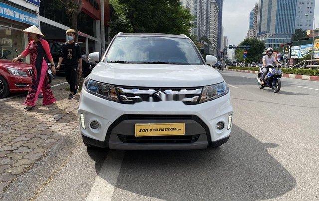 Xe Suzuki Vitara 2016, màu trắng, nhập khẩu0