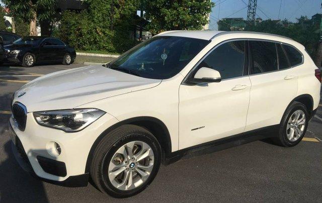 Cần bán xe BMW X1 đời 2015, màu trắng, nhập khẩu nguyên chiếc chính chủ3