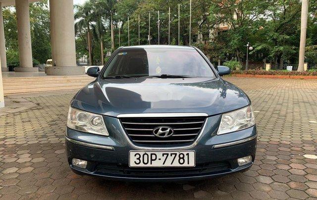 Bán Hyundai Sonata năm 2009, màu xanh lam, xe nhập chính chủ0