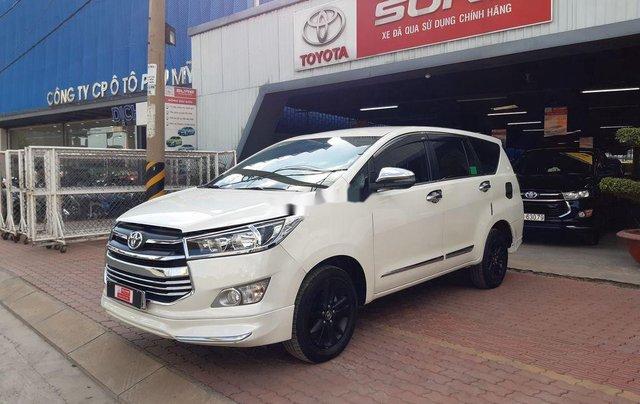 Cần bán lại xe Toyota Innova đời 2019, màu trắng, 790tr6