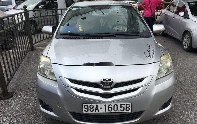 Cần bán lại xe Toyota Vios đời 2010, màu bạc, 245 triệu0
